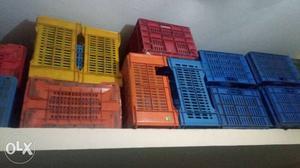 Plastic jumbo trays  cm small trays