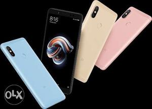 Redmi note 5 pro 4gb/64gb sealed pack black,gold
