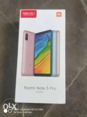 Redmi note 5 pro gold black color 4gb ram 64gb