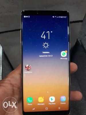 Samsung galaxy note 8 64 gb gold color 100