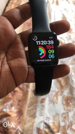 Apple Series 3 Watch 42mm with Sports band.
