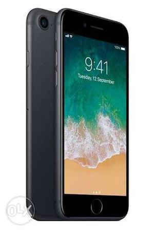 IPhone  GB black Color less used in warranty
