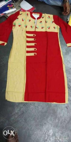 Red And White Stripe Textile