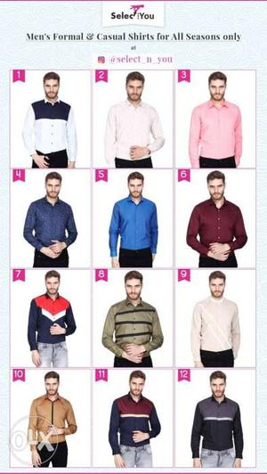 All designer wear shirts available at wholesale