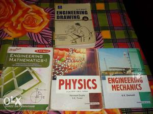 1st year BE books:- Engineering drawing &