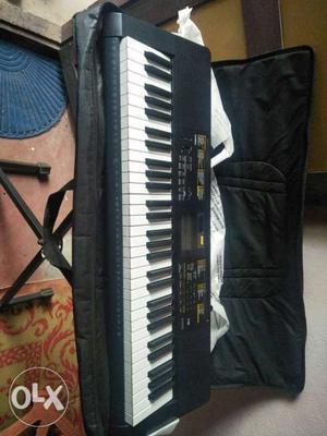 Casio keyboard(CTK-),single use, 1 Year use