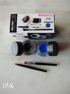 Gel Eyeliner Waterproof Black and Blue gel