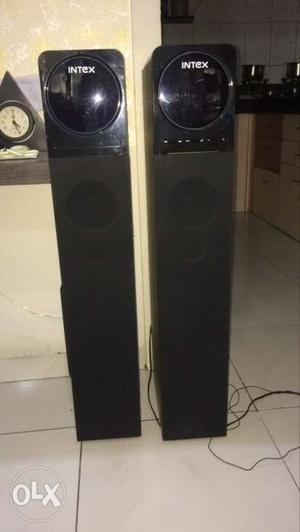 Intex Tower Speakers With Bluetooth, Aux, Sd Card And Pen