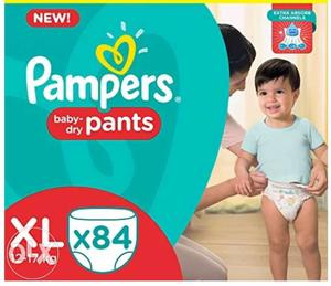 Pampers Baby Dry Diaper Box