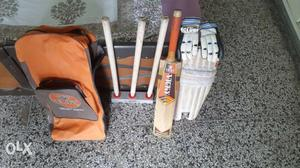 Vicky full cricket kit in a good condition at cheap price