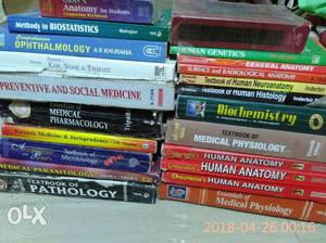 1st, 2nd and 3rd MBBS books all for Rs....