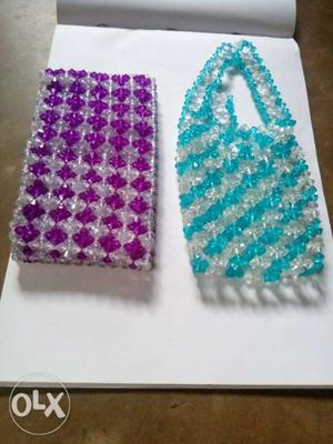 All new crystal stone handbag.no old handbag I am