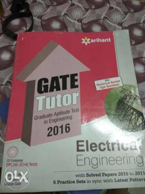 Arihant Gate Tutor for Electrical Engineering.
