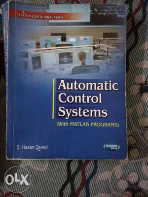 Automatic Control Systems By S. Hasan Saeed Book
