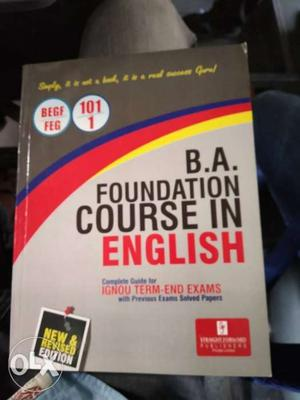 B.A. Foundation Course In English Book
