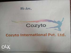 Cozyto International Pvt. Ltd. Logo