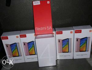 REDMI NOTE 4 64GB/4GB RAM New Seal Pack Note 5 Pro 6GB& 4GB