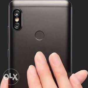 Redmi note 5 pro black. 4gb 64gb. Box ps. With