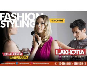 Fashion Styling Courses in Lakhotia Hyderabad