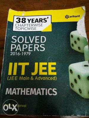 38 years solved papers of IIT JEE