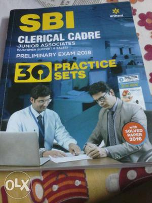 Arihant SBI clerk practice set. totally new book