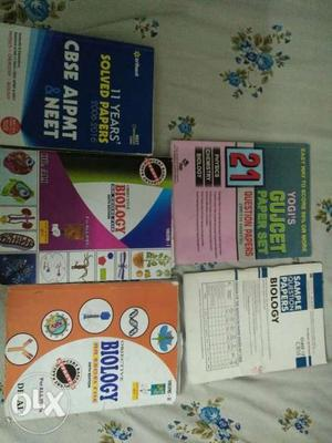 Books for entrance exam like neet and