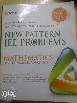 Brand new book for JEE advanced preparation at