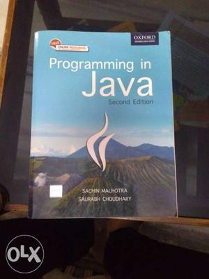 Programming In Java Book