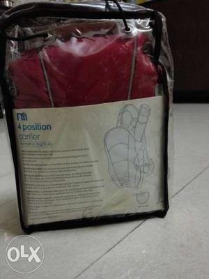Baby carrier (birth to 12kg) unused