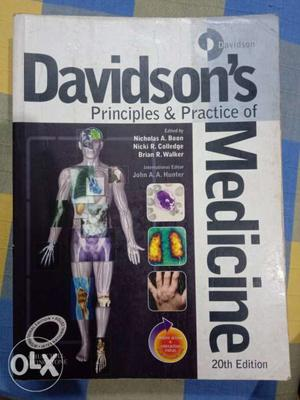 Davidson's Principles Of Practice Of Medicine Book