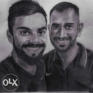 Gift your loved ones with pencil portraits like this post