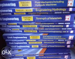 Made easy civil engineering books for all