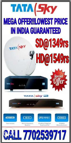TataSky Offer!!New Dth Connections at Just rs Only.Hurry
