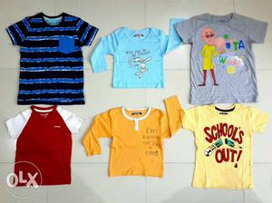 Branded Kids Wear t- Shirts/ Tops and much more