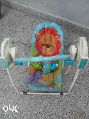 Fisher price musical auto speed setting baby swing