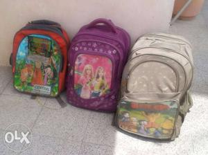 For sale: 03 No of School Bags in good