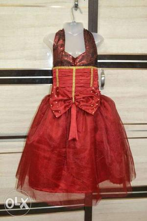 Gd quality net frocks for the age of 2 to 8 yrs