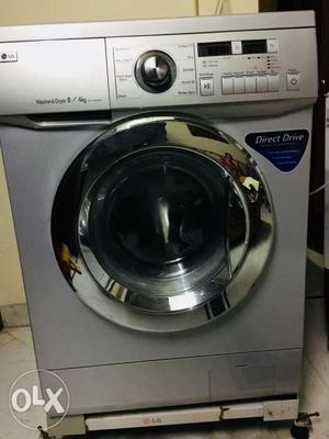 LG Fully Automatic Washing Machine with LG stand