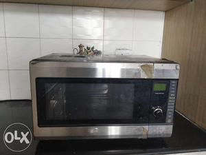 LG Microwave oven with Convection. So, you can