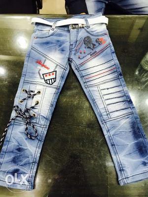 Latest Fashion Kids Boys Jeans under age 4-15