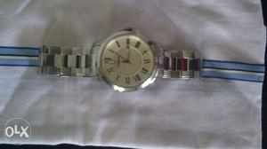 Original Fossil watch 1 year old,sparingly used and in
