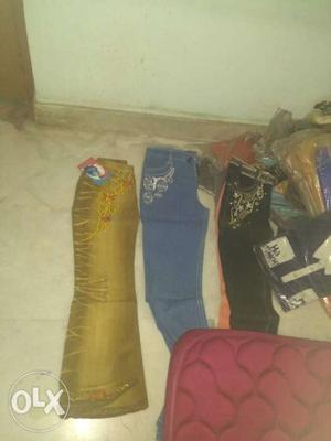 Readymade sale. GD quality jeans 3 for 300 only.