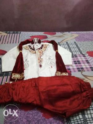 Sherwani for a 3-4 year old kid Awesome look with great