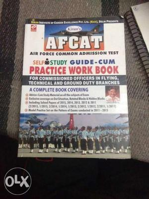 AFCAT Practice Work Book