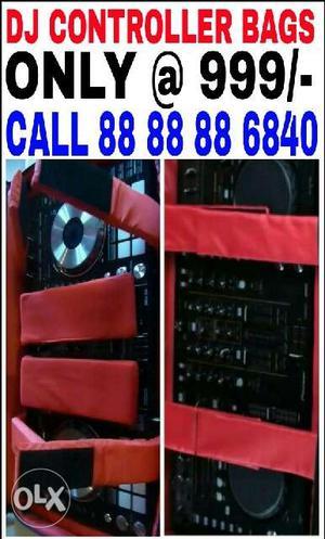 Dj Controller Bags. Speaker Covers. Call
