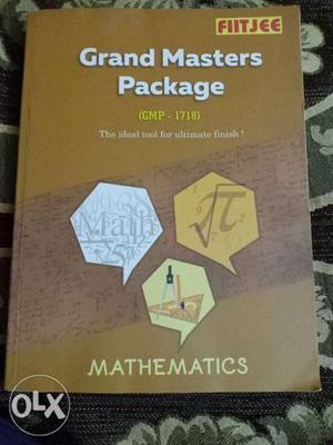 FIITJEE Grand Masters Package Mathematics Textbook