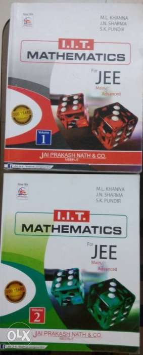 IIT-JEE mathematics book available at a brand new