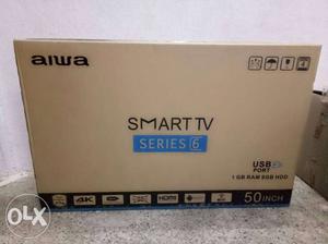 Aiwa 50 smart TV with bill 2 year warranty full HD 4k