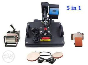 Heat press sublimation machine only 2 week old with bill