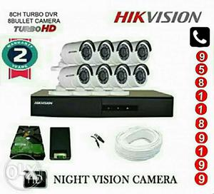 Hikvision Cctv Cameras Combo.